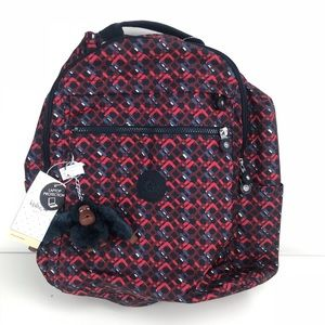 Kipling Micah Printed Laptop Travel Backpack